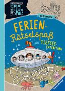 Cover-Bild zu Richter, Martine: Ferien-Rätselspaß auf Tiefsee-Expedition