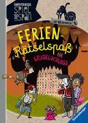 Cover-Bild zu Richter, Martine: Ferien-Rätselspaß im Gruselschloss