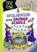 Cover-Bild zu Richter, Martine: Rätsel-Abenteuer in der Zauberschule