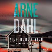 Cover-Bild zu Dahl, Arne: Vier durch vier (Berger & Blom 4) (Audio Download)