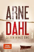 Cover-Bild zu Dahl, Arne: Sieben minus eins (eBook)