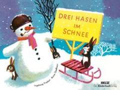 Cover-Bild zu Drei Hasen im Schnee von Geelhaar, Anne