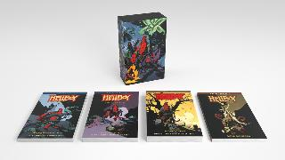 Cover-Bild zu Mignola, Mike: Hellboy Omnibus Boxed Set