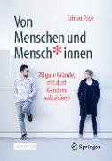 Cover-Bild zu Payr, Fabian: Von Menschen und Mensch*innen