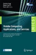 Cover-Bild zu Sigg, Stephan (Hrsg.): Mobile Computing, Applications, and Services (eBook)