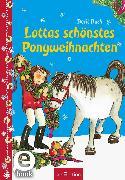 Cover-Bild zu Bach, Berit: Lottas schönstes Ponyweihnachten (Lotta und Knuffel) (eBook)