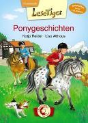 Cover-Bild zu Reider, Katja: Lesetiger - Ponygeschichten