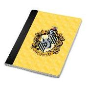 Cover-Bild zu Harry Potter: Hufflepuff Notebook and Page Clip Set von Insight Editions