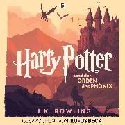Cover-Bild zu Harry Potter und der Orden des Phönix (Audio Download) von Rowling, J.K.