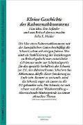 Cover-Bild zu Kleine Geschichte des Rahmenabkommens von Müller, Felix E.