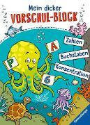 Cover-Bild zu Lohr, Stefan: Mein dicker Vorschul-Block