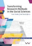 Cover-Bild zu Transforming Research Methods in the Social Sciences (eBook) von Finchilescu, Gillian