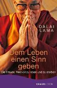 Cover-Bild zu Dalai Lama: Dem Leben einen Sinn geben