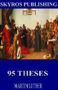 Cover-Bild zu Luther, Martin: 95 Theses (eBook)