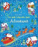 Cover-Bild zu Der große Labyrinthe-Spaß: Adventszeit