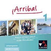 Cover-Bild zu ¡Arriba! Audio-CD Collection 1 von Bachtin, Anastasia