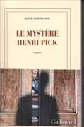 Cover-Bild zu Foenkinos, David: Le mystère de Henri Pick