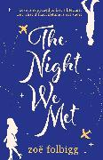 Cover-Bild zu Folbigg, Zoë: The Night We Met