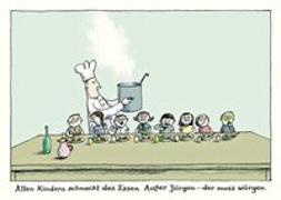 "Cover-Bild zu Schmitz-Kuhl, Martin: Alle Kinder-Postkartenset Motiv ""Jürgen"""