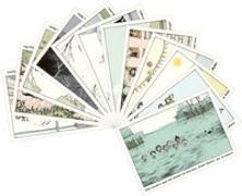 Cover-Bild zu Schmitz-Kuhl, Martin: Alle Kinder gemischtes Postkartenset mit 12 Motiven