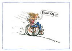 "Cover-Bild zu Kuhl, Anke: AnyBody Postkartenset ""Bahn frei!"""