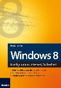 Cover-Bild zu Immler, Christian: Windows 8 (eBook)