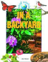 Cover-Bild zu Green, Jen: In a Backyard