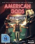 Cover-Bild zu American Gods - 2. Staffel. Collector's Edition von Whittle, Ricky (Schausp.)
