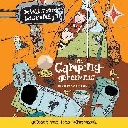 Cover-Bild zu Detektivbüro LasseMaja - Das Campinggeheimnis (Audio Download) von Widmark, Martin