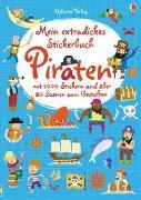 Cover-Bild zu Bowman, Lucy: Mein extradickes Stickerbuch: Piraten