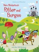 Cover-Bild zu Bowman, Lucy: Mein Stickerbuch: Ritter und Burgen