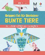 Cover-Bild zu Bowman, Lucy: Origami-Set für Einsteiger: Bunte Tiere