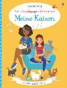 Cover-Bild zu Bowman, Lucy: Mein Anziehpuppen-Stickerbuch: Meine Katzen