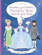 Cover-Bild zu Bowman, Lucy: Mein Anziehpuppen-Stickerbuch: Modische Reise durch die Zeit