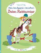 Cover-Bild zu Bowman, Lucy: Mein Anziehpuppen-Stickerbuch: Beim Reitturnier