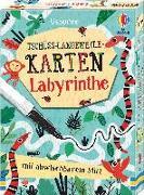 Cover-Bild zu Bowman, Lucy: Tschüss-Langeweile-Karten: Labyrinthe