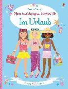 Cover-Bild zu Bowman, Lucy: Mein Anziehpuppen-Stickerbuch: Im Urlaub