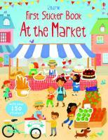 Cover-Bild zu Bowman, Lucy: First Sticker Book Market