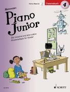 Cover-Bild zu Heumann, Hans-Günter: Piano Junior: Theoriebuch 4