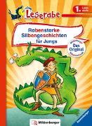 Cover-Bild zu Reider, Katja: Rabenstarke Silbengeschichten für Jungs - Leserabe 1. Klasse - Erstlesebuch für Kinder ab 6 Jahren