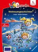 Cover-Bild zu Leopé: Leserabe - 1. Lesestufe: Weltraumgeschichten