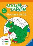 Cover-Bild zu Richter, Martine: Malen nach Zahlen, 1. Kl.: Rechnen bis 20