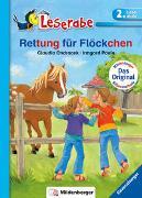 Cover-Bild zu Ondracek, Claudia: Rettung für Flöckchen - Leserabe 2. Klasse - Erstlesebuch für Kinder ab 7 Jahren