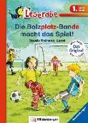 Cover-Bild zu Ondracek, Claudia: Leserabe - Die Bolzplatzbande macht das Spiel!