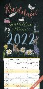 Cover-Bild zu ALPHA EDITION (Hrsg.): Kreidetafel Familienplaner 2022 - Familien-Timer 22x45 cm - mit Ferienterminen - 5 Spalten - Wand-Planer - mit vielen Zusatzinformationen - Alpha Edition