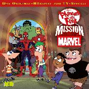 Cover-Bild zu Disney - Phineas und Ferb: Mission Marvel (Audio Download) von Bingenheimer, Gabriele