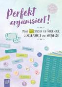 """Cover-Bild zu Perfekt organisiert! 1111 Sticker für Kalender, Lehrerplaner und Notizbuch """"live - love - teach"""" von Redaktionsteam Verlag an der Ruhr (Hrsg.)"""