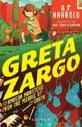 Cover-Bild zu Harrold, A. F.: Greta Zargo and the Amoeba Monsters from the Middle of the Earth (eBook)
