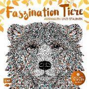 Cover-Bild zu Faszination Tiere - Ausmalen und Staunen von Merritt, Richard (Illustr.)