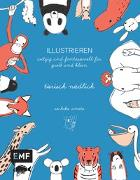 Cover-Bild zu ILLUSTRIEREN: tierisch niedlich von Umoto, Sachiko